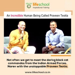 Interviewing Praveen Teotia – Black cat commandos