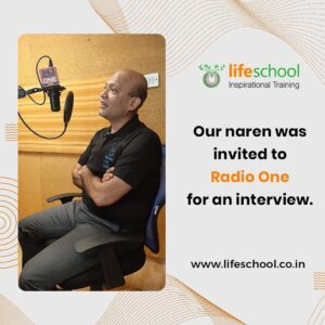 Naren was invited for an interview to Radio one