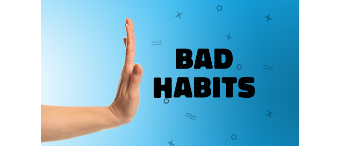 Have you ever wondered how much do BAD HABITS