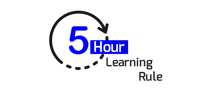 The 5 Hour Learning Rule